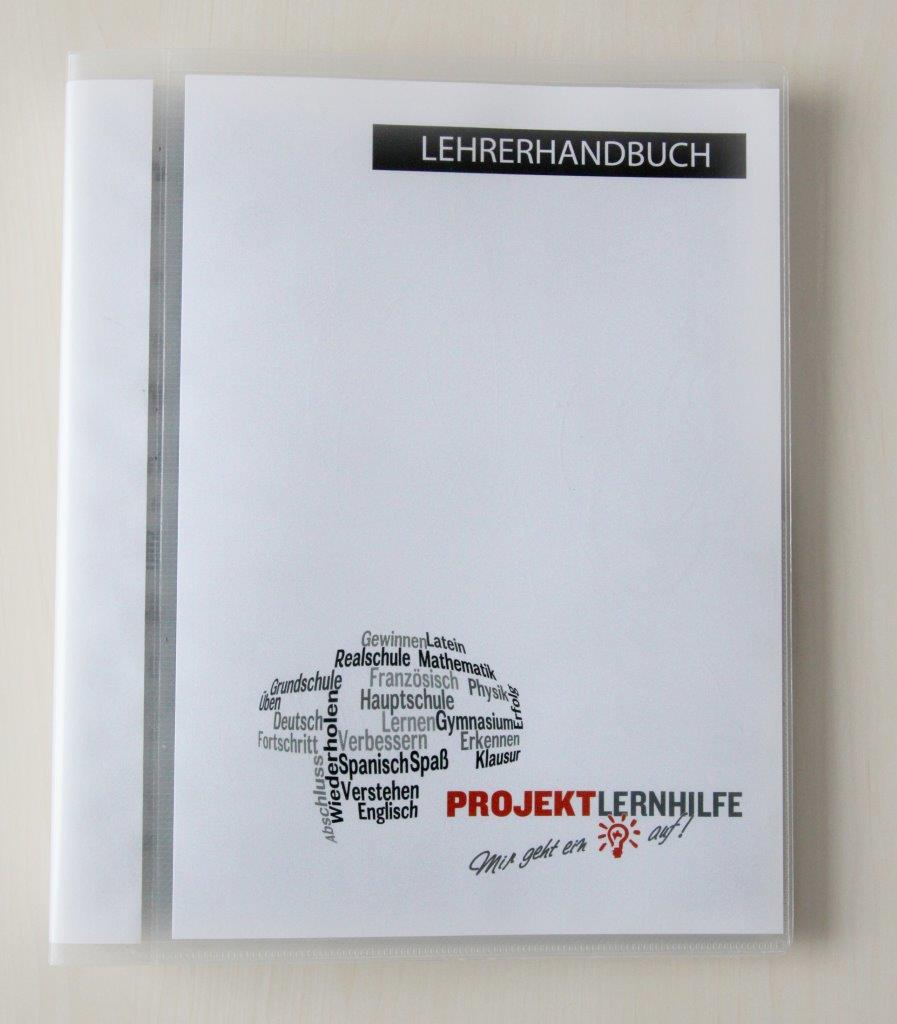 Projekt Lernhilfe Lehrerhandbuch